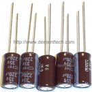 5x 220uF 35v Nippon KY 8mm 105C Low-ESR Long Life capacitors