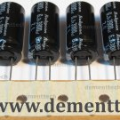 10x 3900uF 6.3v Rubycon ZL 12.5mm 105C Low-ESR radial capacitors