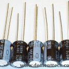 5x 150uF 35v Nichicon HE 105C 8mm Low-ESR capacitors caps