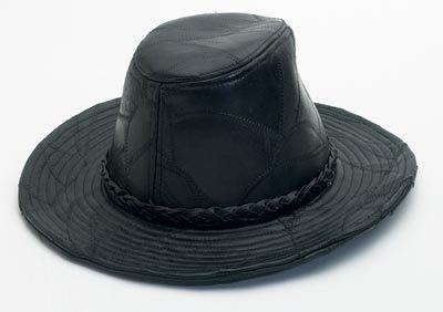 Genuine Leather Cowboy Hat - Size L