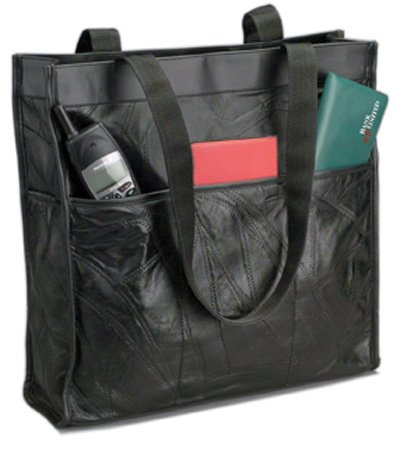 Genuine Leather Shopping/Travel Bag