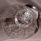 "Cambridge CHANTILLY 8"" Etched Water Goblet"