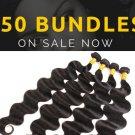 50 Per  Bundles Brazilian Human  hair body-waves bundles