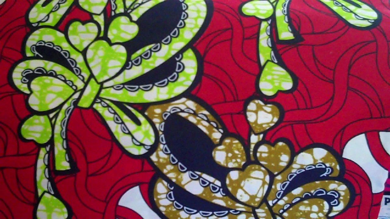 African Wax Fabric Ankara Dashiki Batik - Real Wax Print Sold by the yard