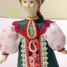 Russian costume doll 5'