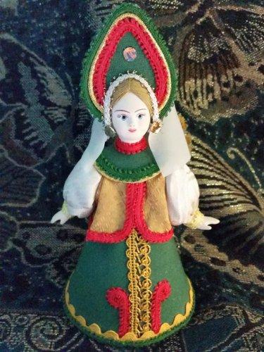 Russian costume doll 5'