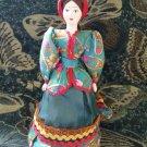 Russian Cossack costume doll 10'