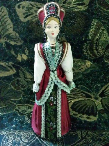 Russian costume doll 10'