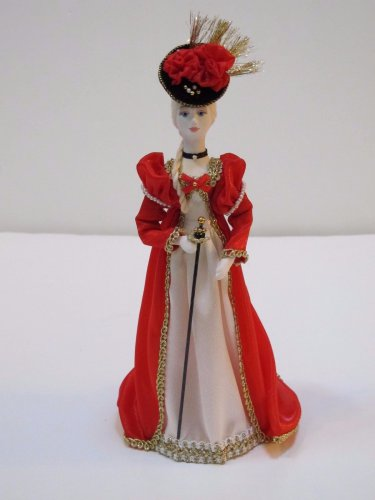 Russian costume doll 11.5'
