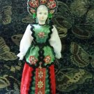 Russian costume doll 10.5'