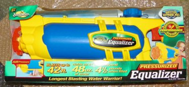 2009 Pressurized Equalizer Water Warriors [Unopened Brand New]