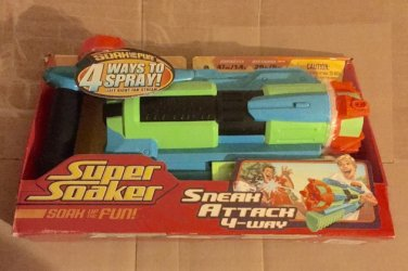 2007 Super Soaker Aquashock Sneak Attack [Unopened Brand New]