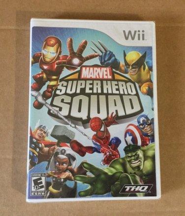 Brand New Factory Sealed Rare Marvel Super Hero Squad - Nintendo Wii, 2009