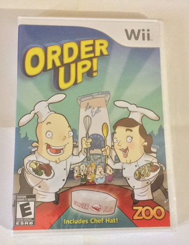 Brand New Factory Sealed Order Up! - Nintendo Wii