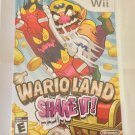 Brand New Factory Sealed Wario Land: Shake It! - Nintendo Wii