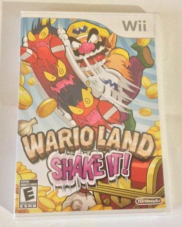 Brand New Factory Sealed Wario Land: Shake It! - Nintendo Wii