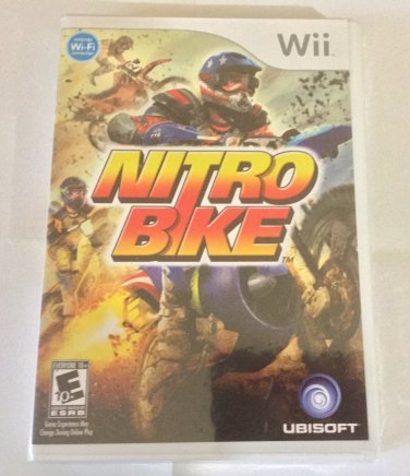 Brand New Factory Sealed Nitrobike - Nintendo Wii