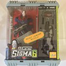 New G.I. Joe (GI Joe) Sigma 6 Destro Rocket Launcher Recoils 8 Inch Figure