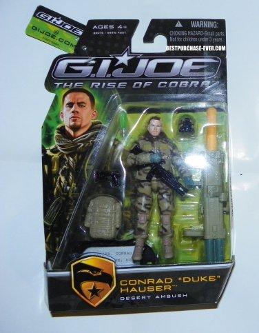 New G.I. Joe GI Joe ROC Conrad Duke Hauser Desert Ambush Figure