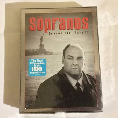 Brand New Sealed The Sopranos: Season 6, Part 2 (2007) DVD set