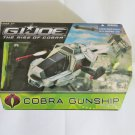 New 2008 G.I. Joe Rise of Cobra Gunship with Firefly Action Figure Vehicle