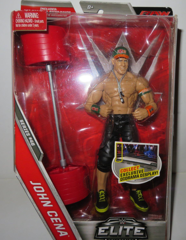 New WWE Elite Collection John Cena Series 46 Action Figure