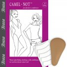 Braza Camel-Not Camel Toe Cover Foam Inserts - One Size - Beige, S3022