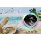 Sea Shell Love Wish Pearl Kit Cultured Pearl Bracelet Set with Stainless Steel Chain 7""