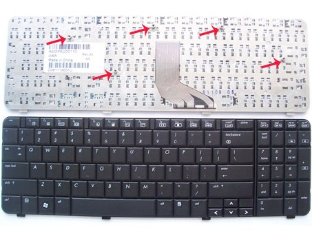 US HP Compaq Presario CQ61, G61 Series Laptop Keyboard