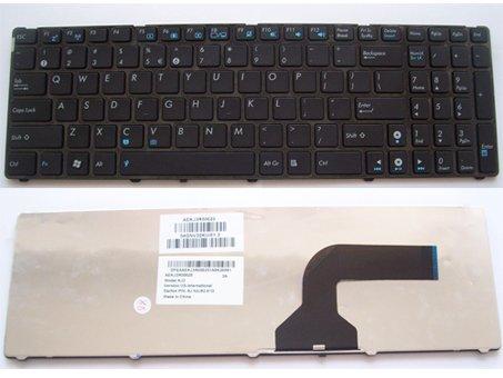 ASUS N50 N51 N52 N53 N61 N73 U50 UL50 UX50 F50 laptop keyboard Black