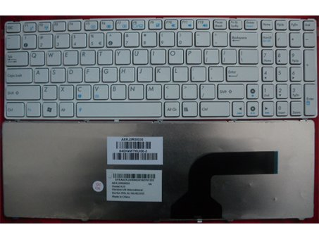 ASUS N60 N70 N71 N71J N71V laptop keyboard White