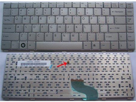 SONY Vaio VGN SZ Series laptop keyboard Silver - 147967552