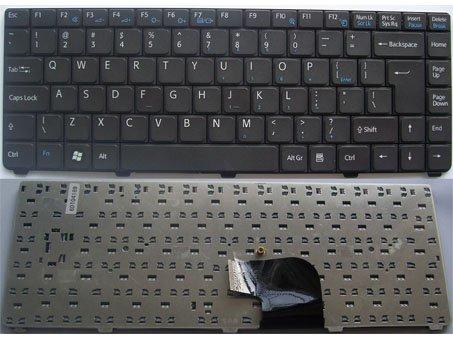 US Layout Sony VAIO VGN-C Series Laptop Keyboard Black