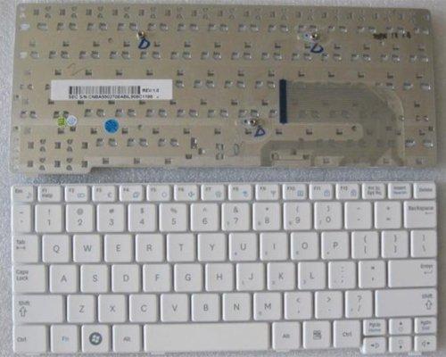 US Layout Samsung NP-N148 NP-N150 N148 N150 NB30 N128 Series keyboard White