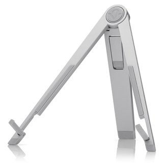 Silver Desktop Holder Compass Mobile Stand For iPad
