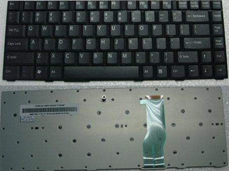 SONY VAIO VGN-FJ VGN-FJ29 VGN-FJ78C Series Laptop Keyboard - Black