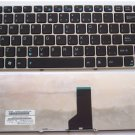 Original Keyboard fit ASUS UL30 UL30A UL30VT Series Laptop -- Black WITH Silver Frame