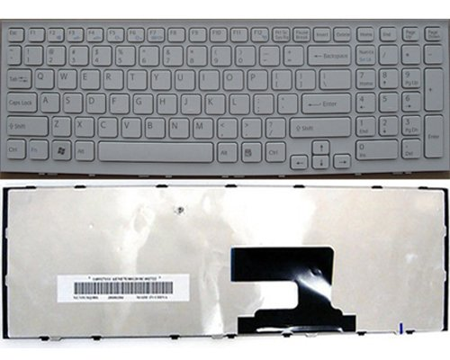 Sony  VPC-EH17FX/B Keyboard - NEW Sony  VAIO VPC-EH17FX/B Keyboard  ( us layout,White)