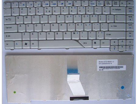 4210 keyboard - New Acer TravelMate 4210 Series keyboard (us layout,white)