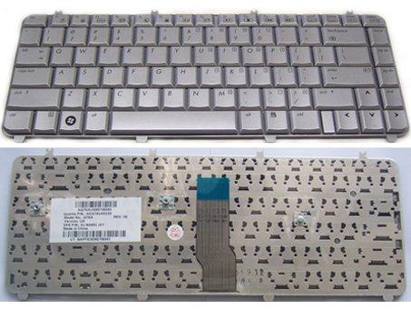 DV5-1002US Keyboard  - New HP COMPAQ DV5-1002US Keyboard us layout Silver
