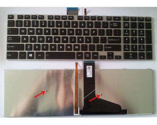 New US Toshiba Satellite L50 L50D L50T Keyboard --with Backlit ,black