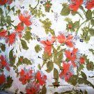 "Vintage Dress Fabric 1940s - 60s New Look Mad Men 45"" x 3 yds Unused Silky ish"