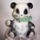 Vintage Panda Bear Cookie Jar Brush McCoy NO CHIPS 1957 Mad Men Mid Century L@@K