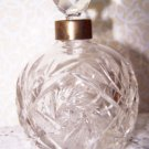 Vintage Perfume Bottle Crystal Vanity Romantic Hollywood Regency Chic Paris Apar