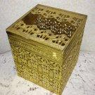 Vintage Tissue Box Cover Kleenex Ormolu Hollywood Regency Paris Chic Stylebuilt