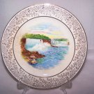 Niagara Falls Plate General View Vintage RARE Style Early 1900s Historical Nice!