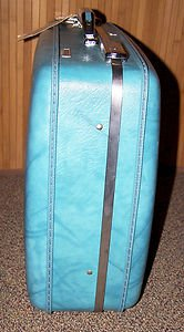 Vintage Suitcase Luggage American Tourister Original KEY ID Tag Ex Cond NO Odors
