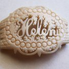 Vintage Faux Ivory Carved Jewelry Accent Antique Jewelry Elements Helen