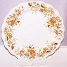 "Antique Rose Plate Ridgway 4125 Vintage Stafforshire England RARE 9.75"""