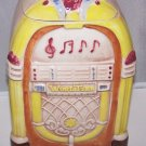 Cookie Jar JukeBox Wurlitzer Treasure Craft Vintage 1950s Retro Mad Men 50s RARE